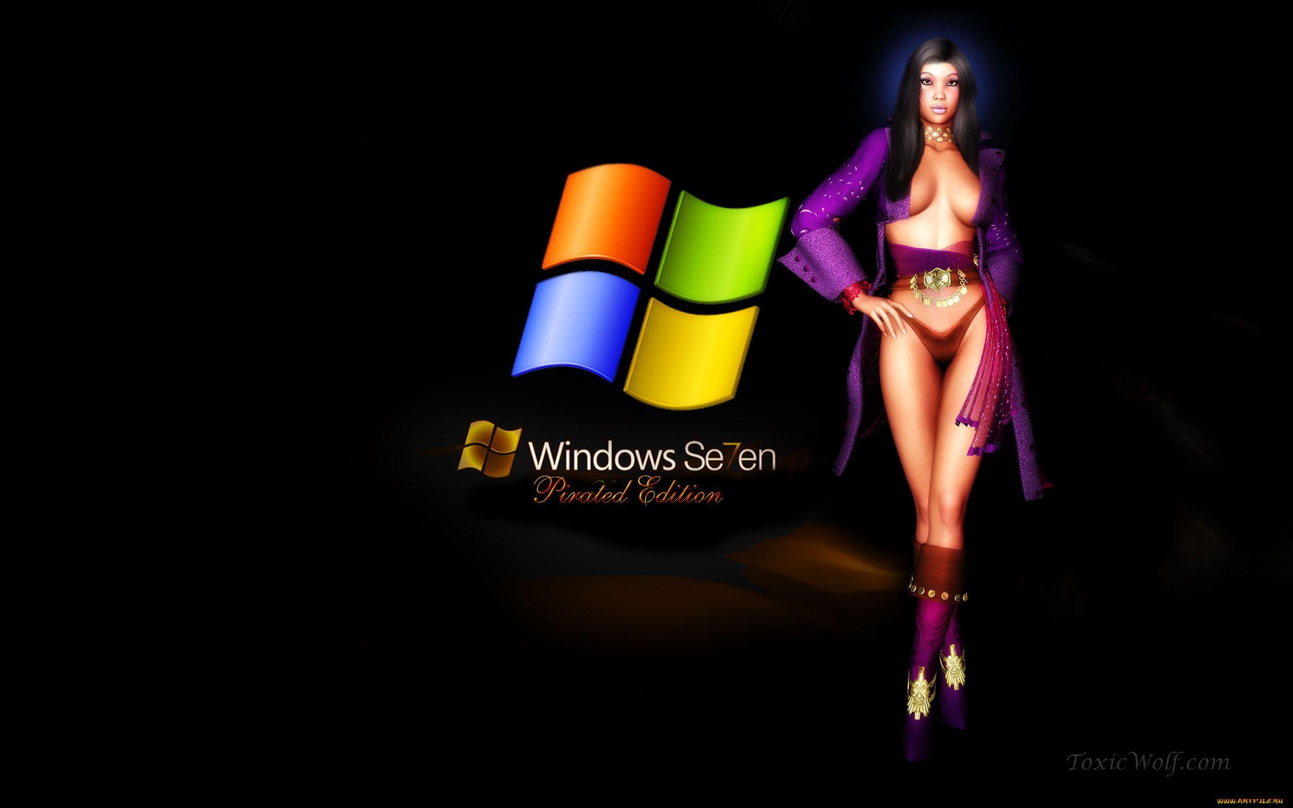 Обои Девушки Для Windows 7 Скачать